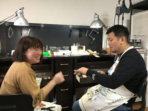 福岡北九州手造り結婚指輪DITIQUE我流鍛造楽しいゼクシィ