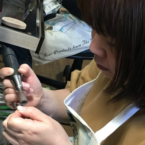 福岡北九州手造り結婚指輪DITIQUE我流鍛造リューターゼクシィ