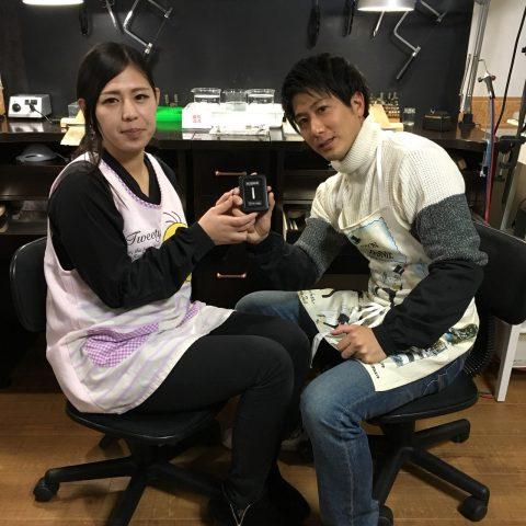 福岡結婚指輪北九州小倉DITIQUE我流鍛造