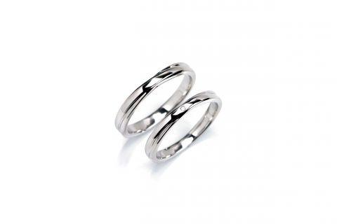 福岡結婚指輪北九州小倉DITIQUE我流鍛造プラチナ加工クロスプラチナ