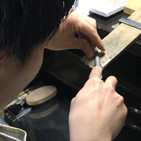 I様 手づくり結婚指輪がりゅうたんぞう福岡北九州小倉DITIQUEゼクシィやすり
