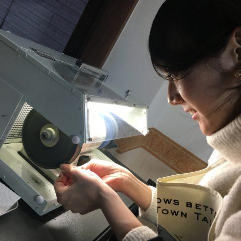 福岡北九州小倉手造り結婚指輪我流鍛造磨き