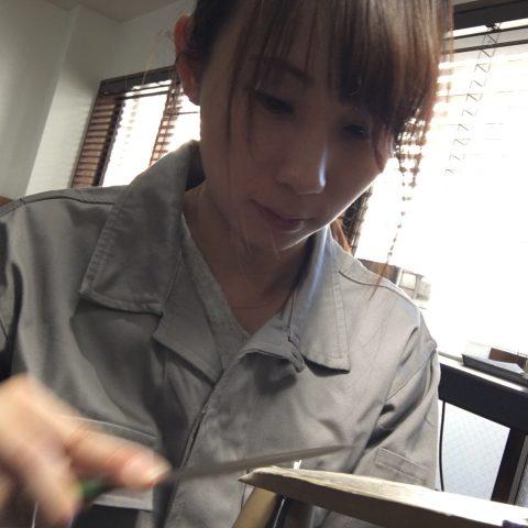 手づくり結婚指輪我流鍛造DITIQUE福岡北九州小倉やすり
