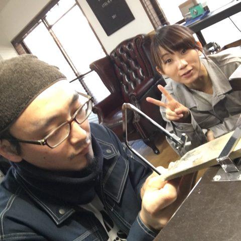 手づくり結婚指輪我流鍛造DITIQUE福岡北九州小倉ピース