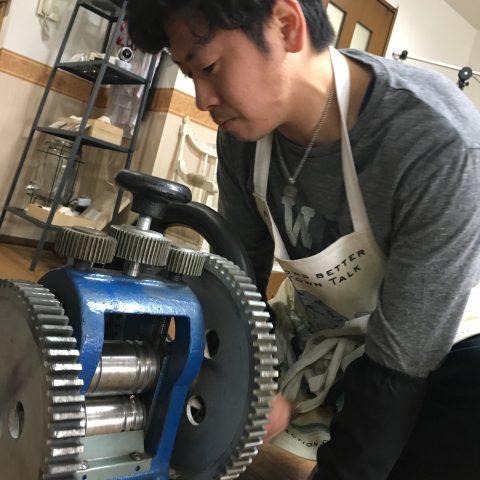 手造りリング鍛造自分でDITIQUE福岡北九州小倉ローラー