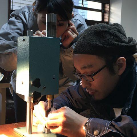 手づくり結婚指輪我流鍛造DITIQUE福岡北九州小倉刻印