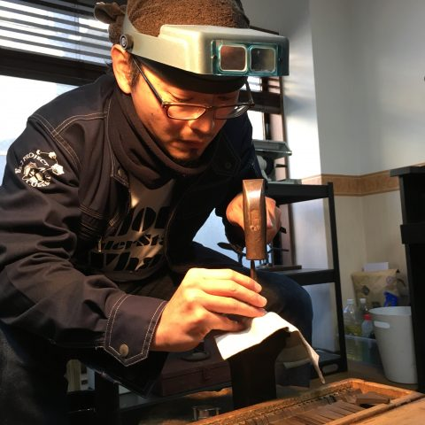 手づくり結婚指輪我流鍛造DITIQUE福岡北九州小倉刻印ご自身で
