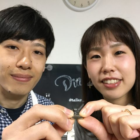 福岡手づくり結婚指輪DITIQUE