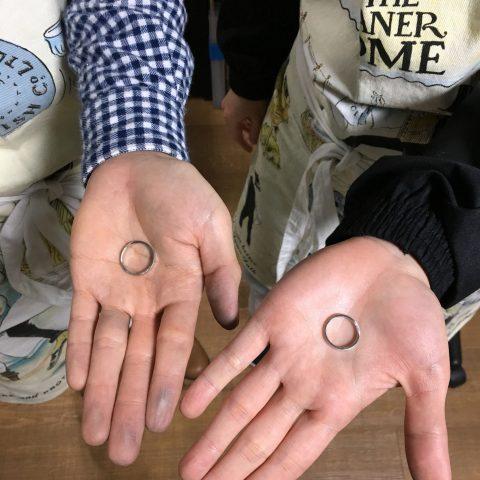 福岡手づくり結婚指輪DITIQUE小倉鍛造リング