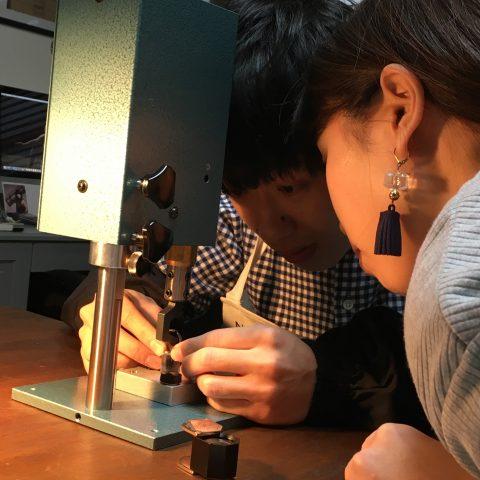 福岡手づくり結婚指輪DITIQUE小倉鍛造刻印