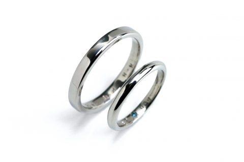 手づくり結婚指輪我流鍛造DITIQUE福岡北九州小倉プラチナ