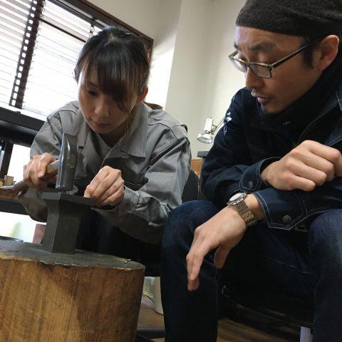 手づくり結婚指輪我流鍛造DITIQUE福岡北九州小倉女性も