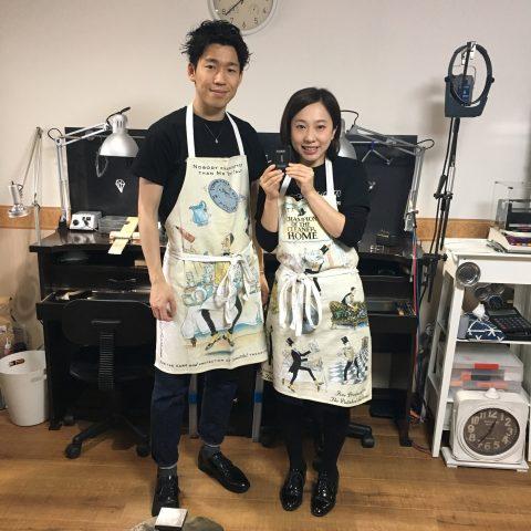 手づくり結婚指輪鍛造福岡小倉DITIQUEブライダルフェア
