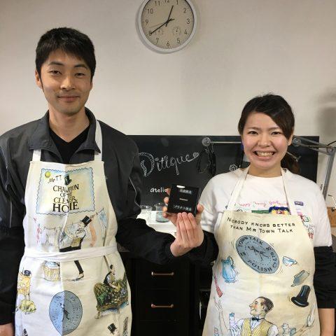 福岡北九州小倉DITIQUE手づくり結婚指輪鍛造