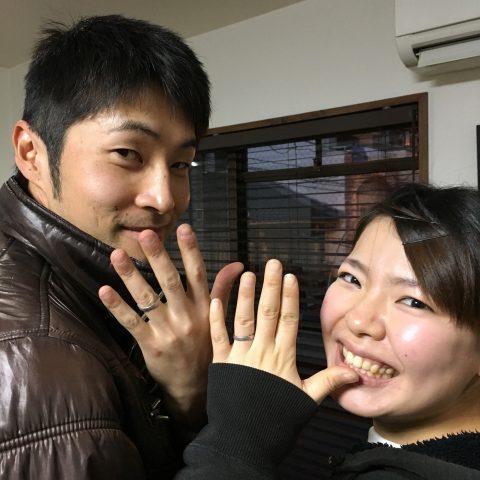 福岡北九州小倉DITIQUE手づくり結婚指輪我流鍛造