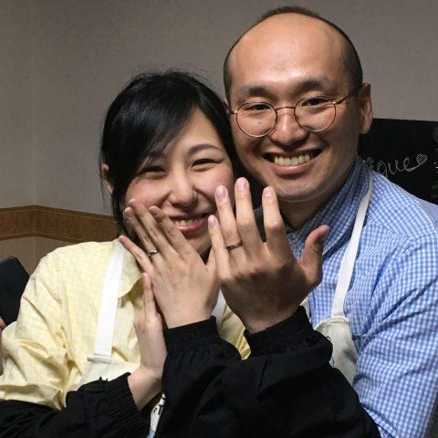 我流鍛造手づくり結婚指輪小倉福岡DITIQUE