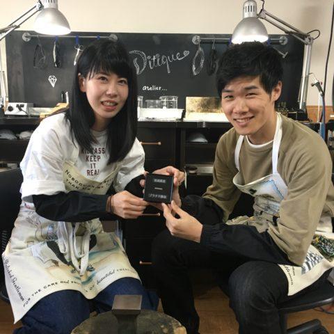 我流鍛造結婚指輪手づくり福岡北九州小倉