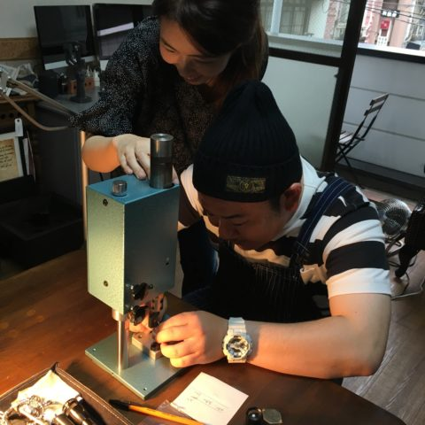 福岡北九州小倉手づくり結婚指輪DITIQUEマリッジリング我流鍛造