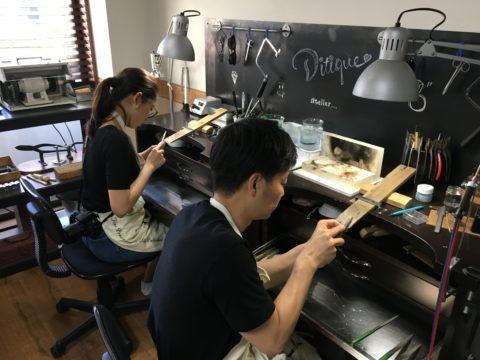 福岡手づくり結婚指輪DITIQUE北九州小倉