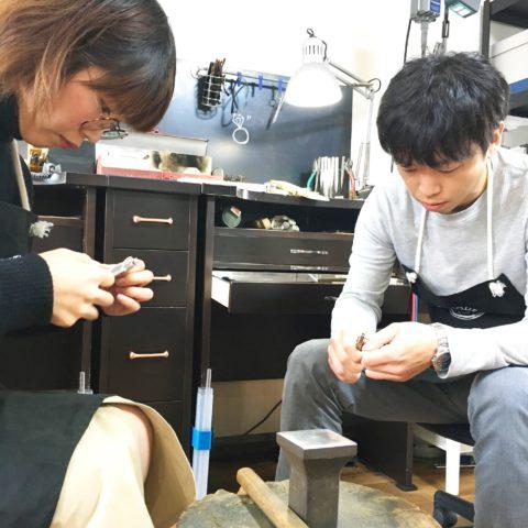 DITIQUE手づくり結婚指輪我流鍛造福岡北九州